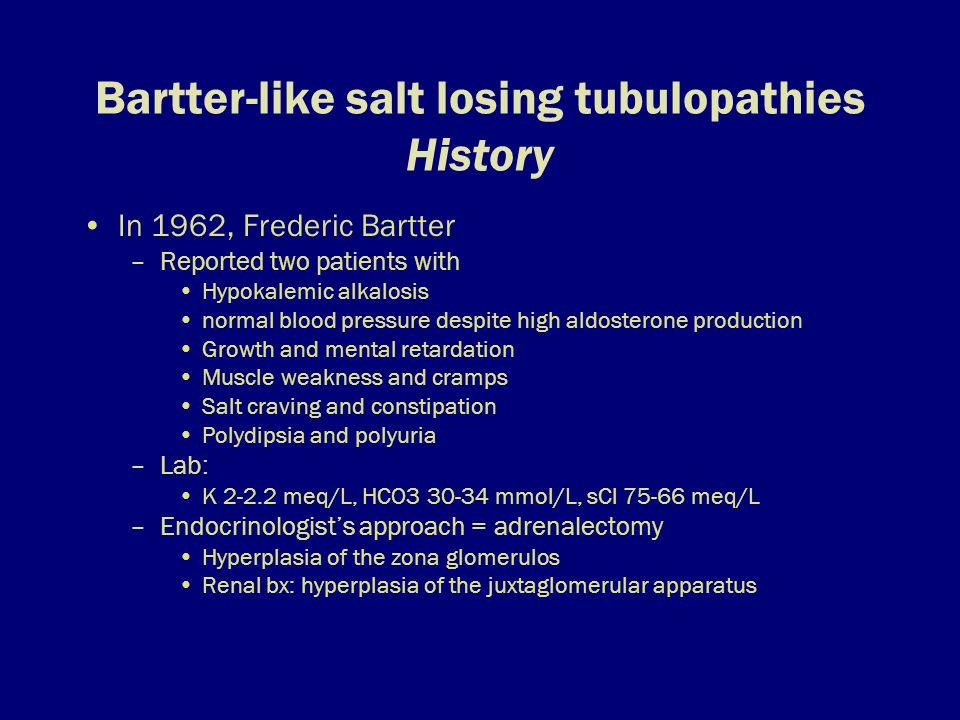 BSND – a model of K+ secretion in the inner ear Bartter syndrome_Herbert_CurrOpinHTNNeph_2003