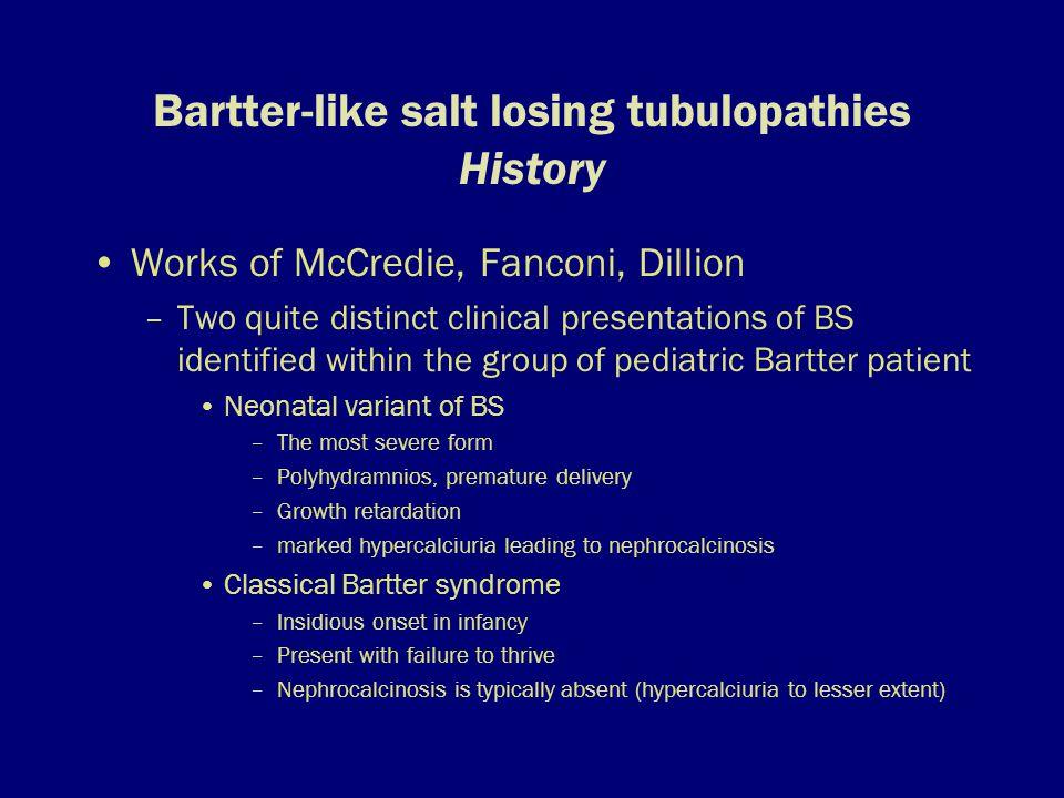 Hypokalemic salt-losing tubulopathies_Zelikovic_Nephrology Dialysis Transplant_2003