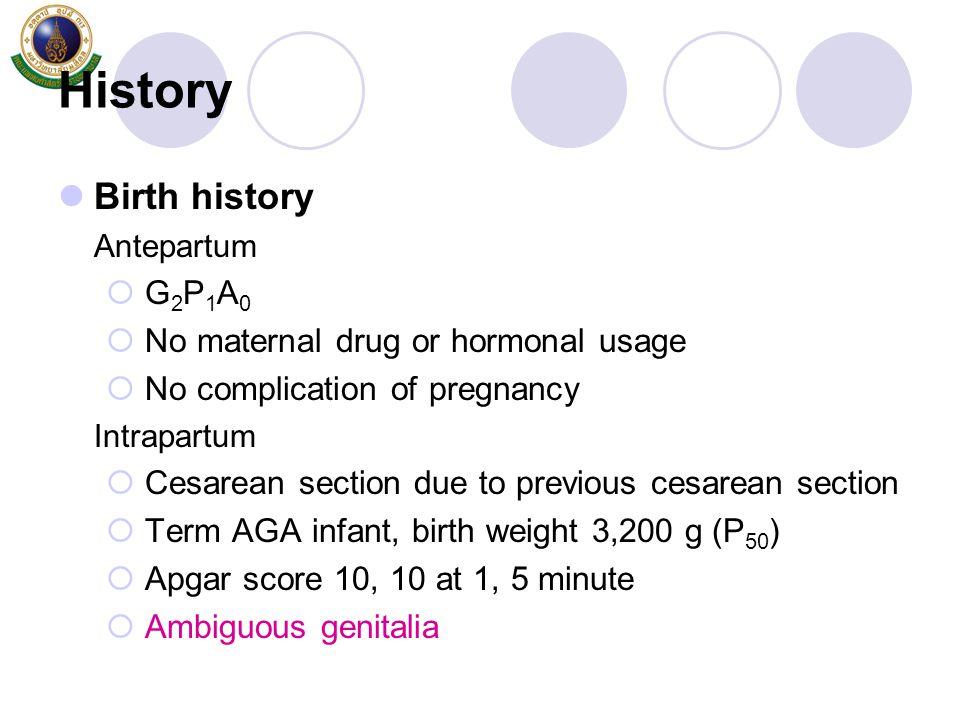 Diagnosis of CAH