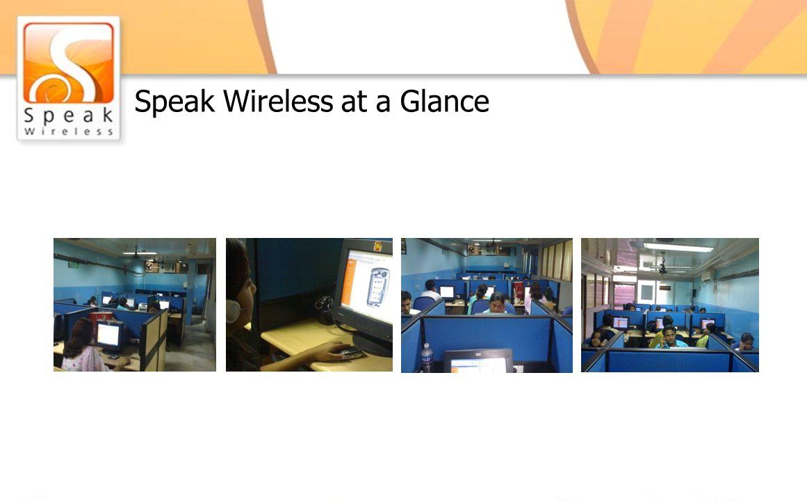 Speak Wireless at a Glance