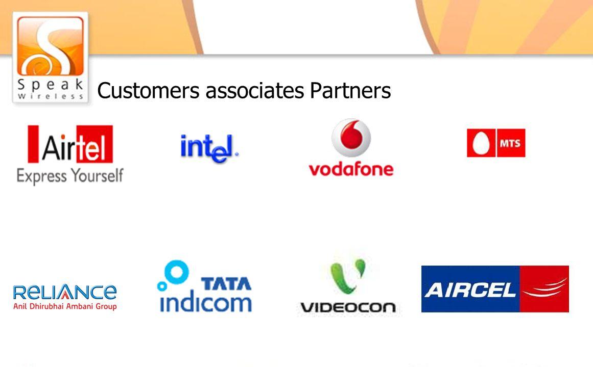 Customers associates Partners