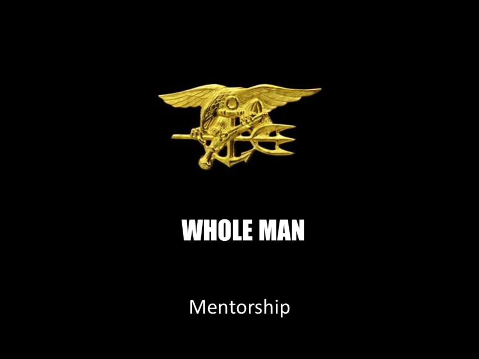 WHOLE MAN Mentorship