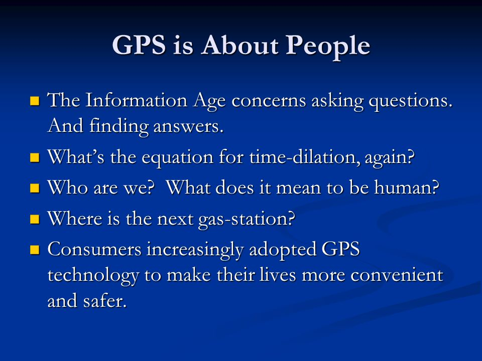 GPS Cares GPS businesses are family business.GPS businesses are family business.