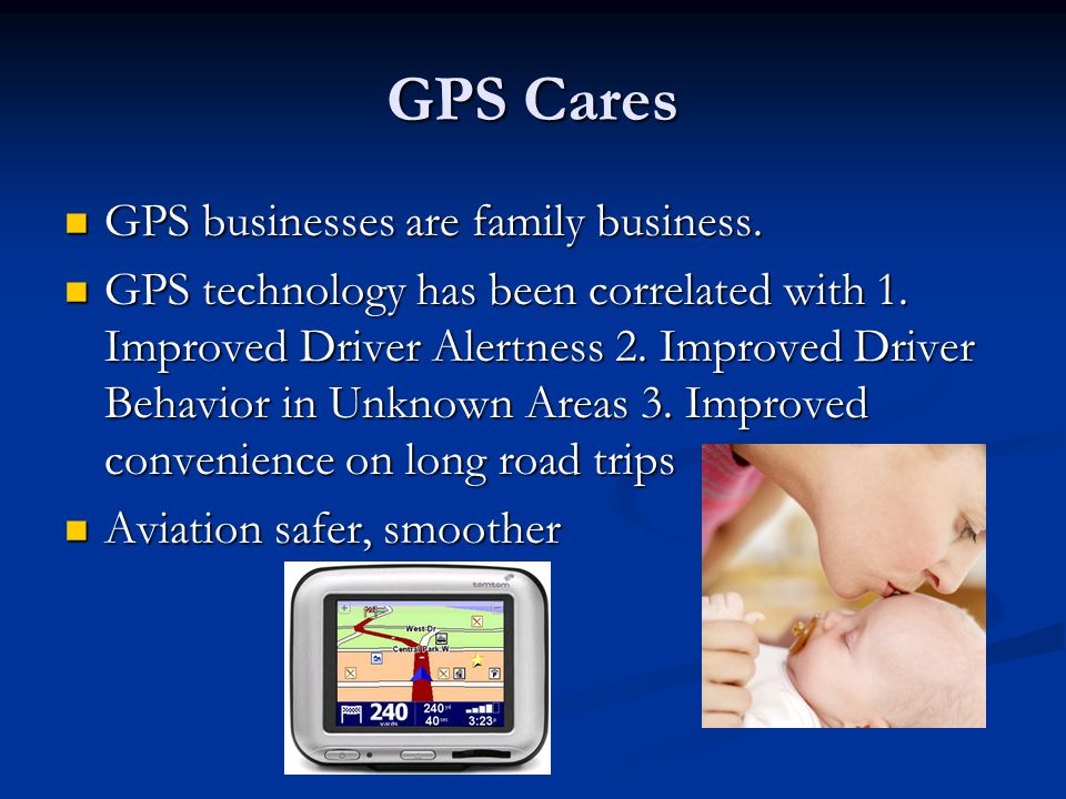 GPS Cares GPS businesses are family business. GPS businesses are family business.