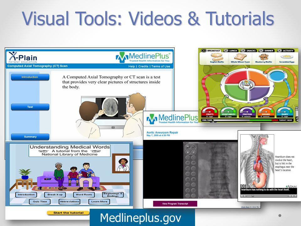 Visual Tools: Videos & Tutorials Medlineplus.gov