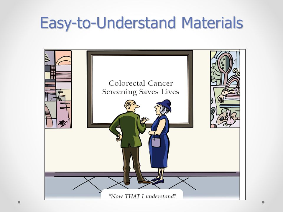 Easy-to-Understand Materials