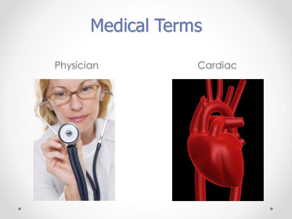 Physician Cardiac Medical Terms