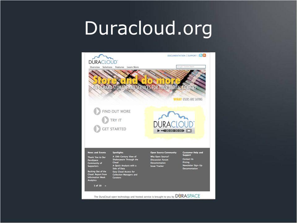 Duracloud.org