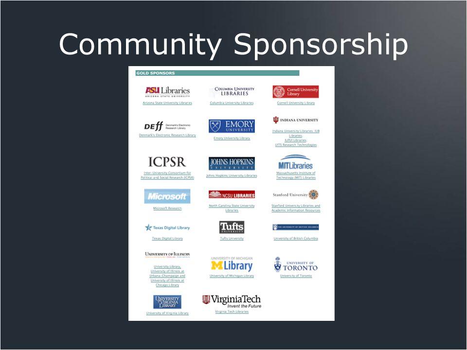 Community Sponsorship