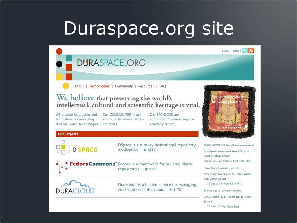 Duraspace.org site