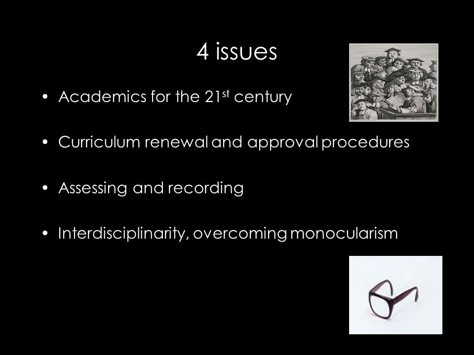 Issue 4) Interdisciplinarity monocularism
