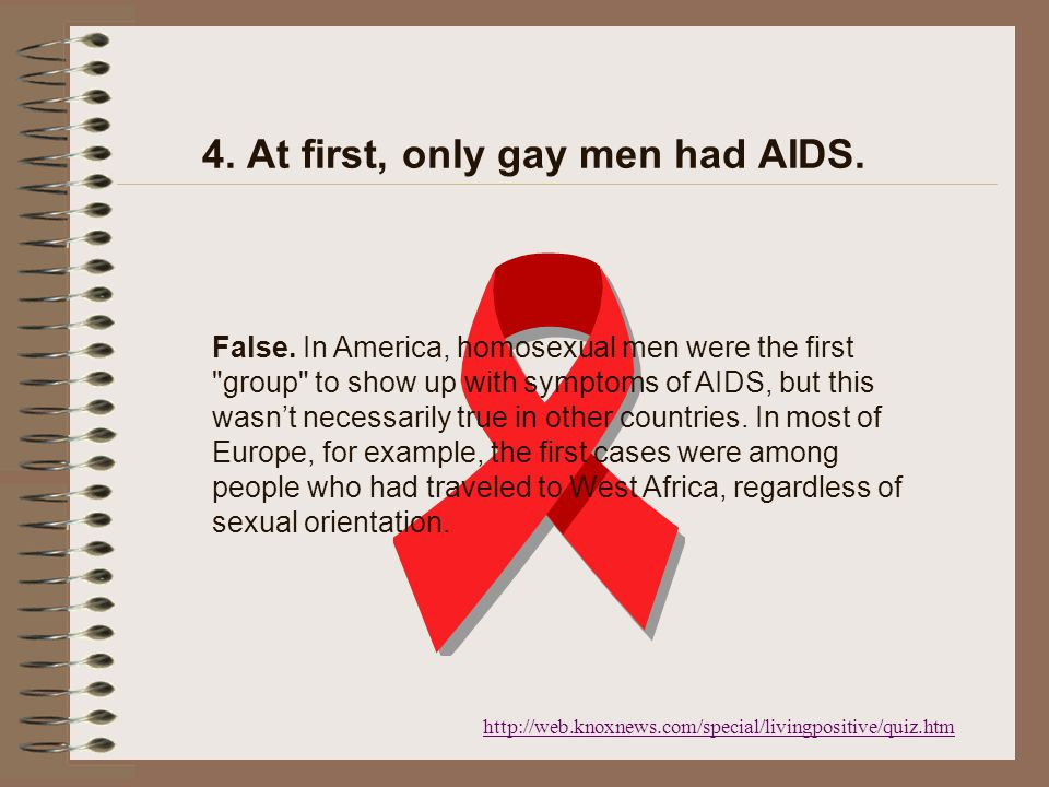 3. One form of HIV is transmitted through air. False.