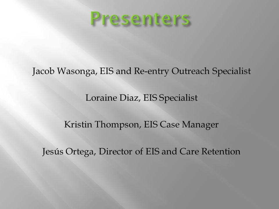 For Programmatic or Marketing Information Contact:  Randy Hinkle, Programs Manager– 210-358-9893- randyh@aarcsa.comrandyh@aarcsa.com For Client Services Contact:  Jesús Ortega, Director of EIS– 210-358-9639- jesuso@aarcsa.comjesuso@aarcsa.com  Kristin Thompson, EIS Case Manager- 210-358-9502- kristint@aarcsa.comkristint@aarcsa.com  Loraine Diaz, EIS Specialist– 210-358-9505- lorained@aarcsa.comlorained@aarcsa.com  Jacob Wasonga, EIS & Re-Entry Specialist– 210-358-3758- jacobw@aarcsa.comjacobw@aarcsa.com www.aarcsa.com/thrivewww.aarcsa.com/thrive thrive@aarcsa.comthrive@aarcsa.com