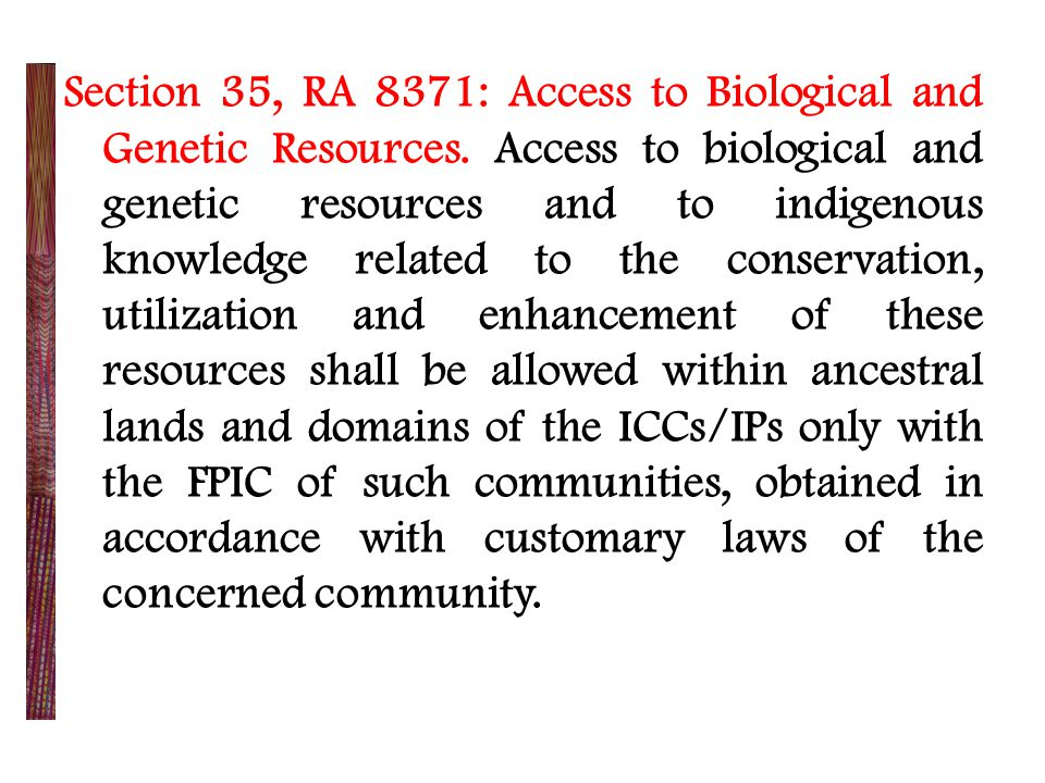 Republic Act 8423 - Traditional and Alternative Medicine Act of 1997 Section 2.
