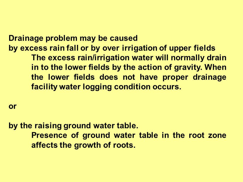 Lec.27. Surface drainage systems - various methods