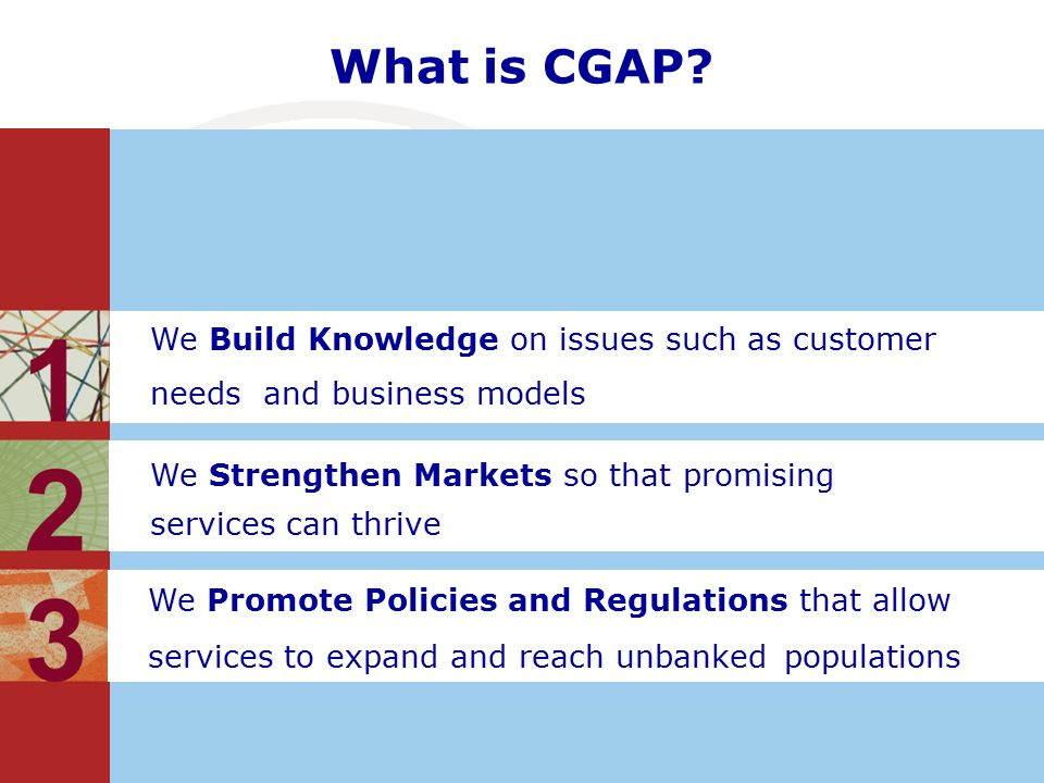 What is CGAP.
