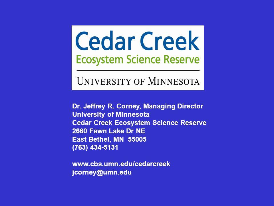 Dr. Jeffrey R.