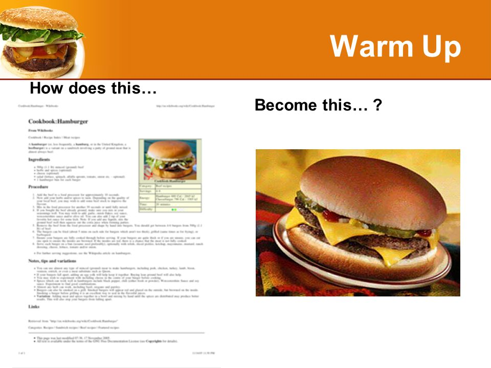 Bacteria Requirements Review Time/Temperature - keep food temperatures below 40° F (4° C) or above 140° F (60° C).