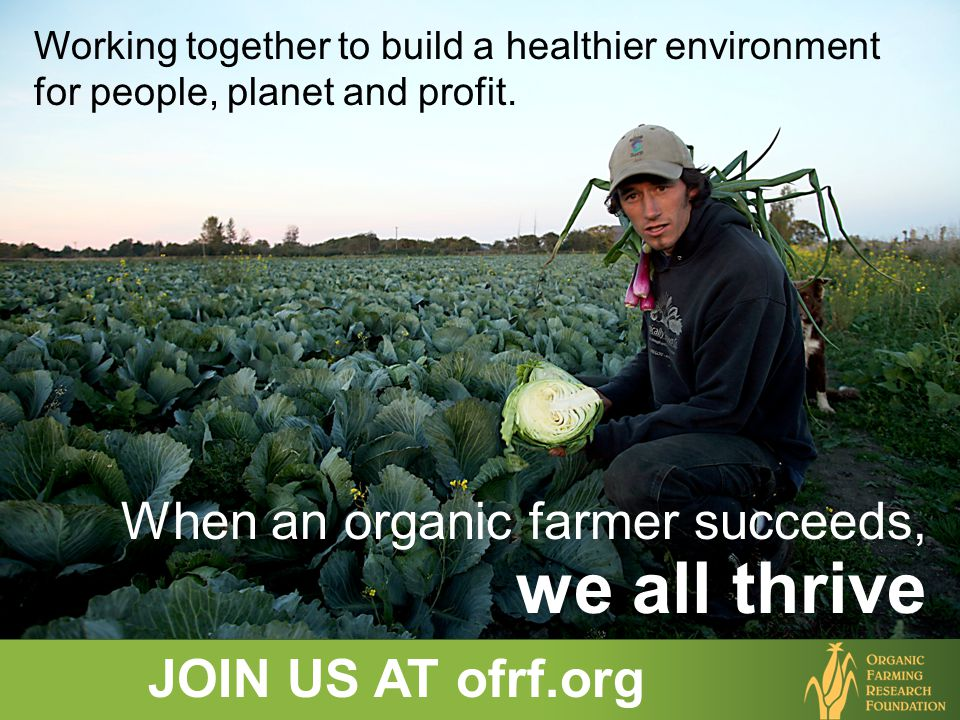 Working together to build a healthier environment for people, planet and profit.
