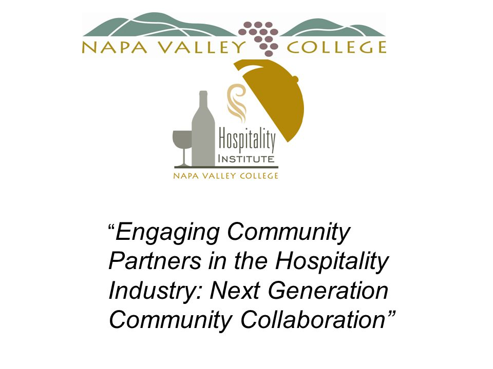 Engaging Community Partners in the Hospitality Industry: Next Generation Community Collaboration