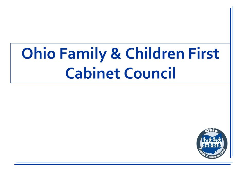 Ohio Family & Children First Cabinet Council