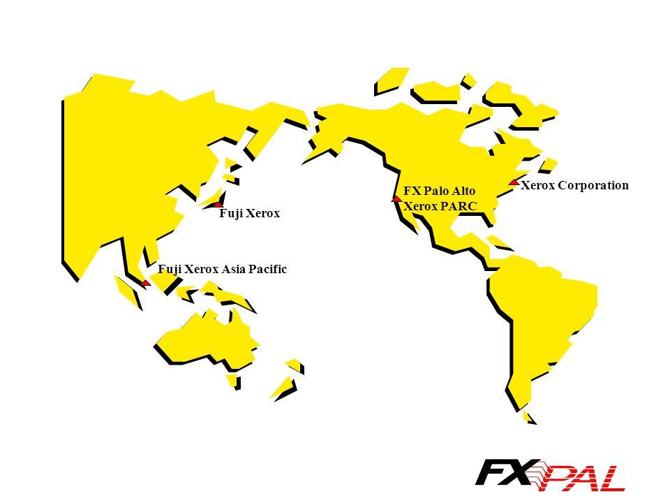 Fuji Xerox Fuji Xerox Asia Pacific FX Palo Alto Xerox PARC Xerox Corporation