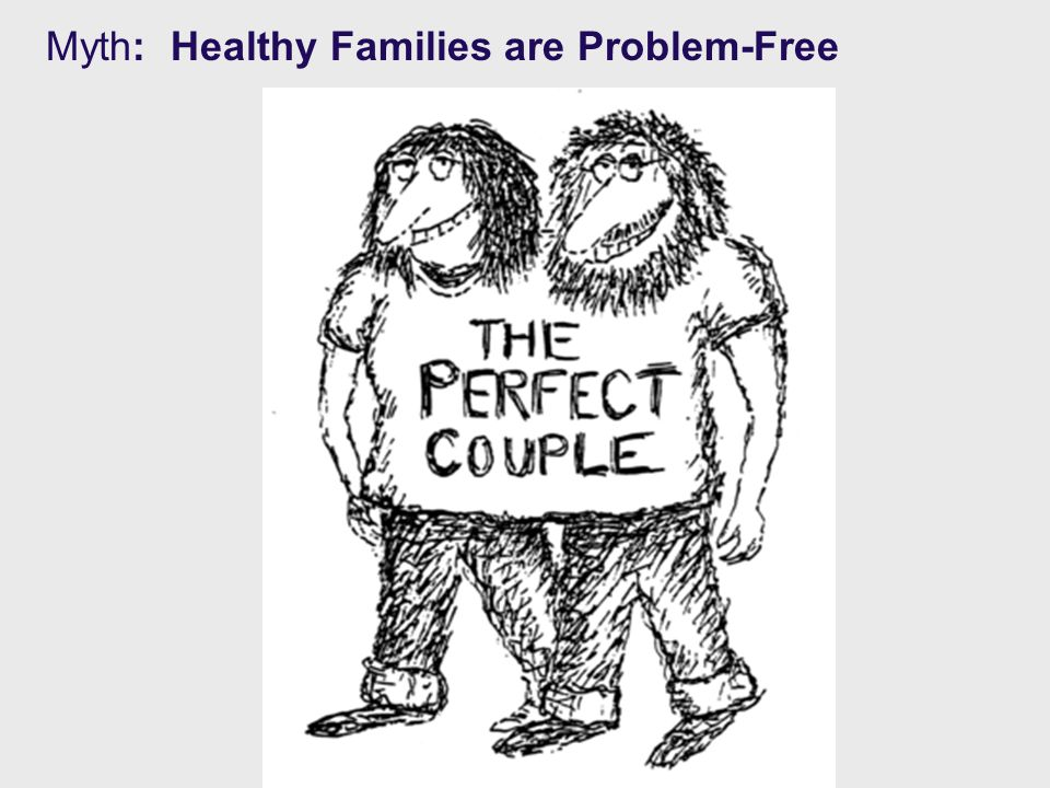 Myth: Healthy Families are Problem-Free