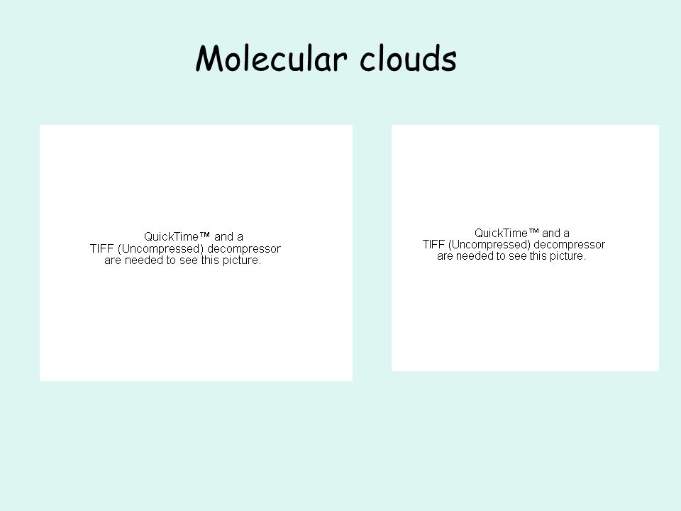 Molecular clouds