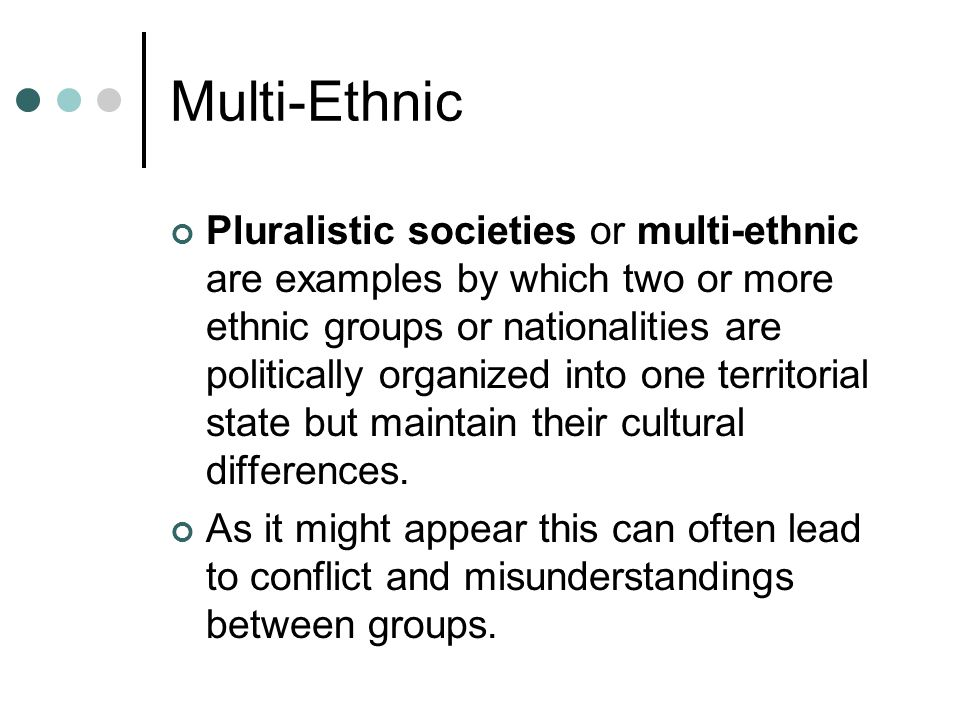Culture, Society, and the Individual A society is the union of people whom have their own special needs and interests.