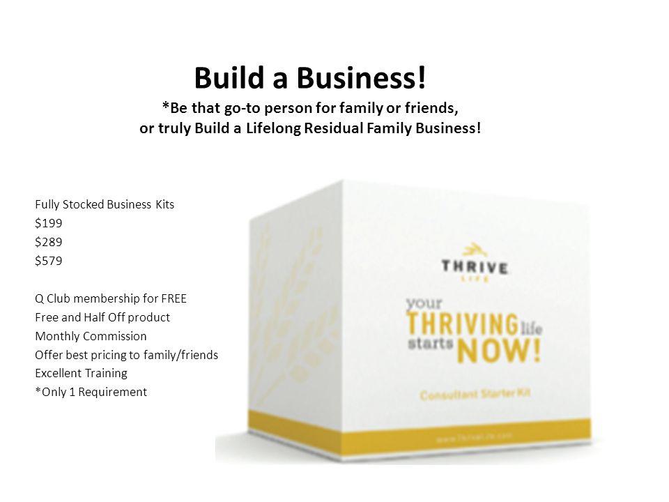 Build a Business.
