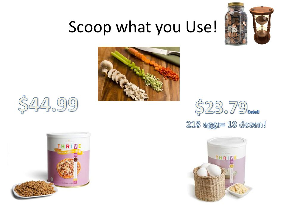 Scoop what you Use!