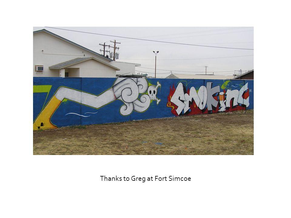 Thanks to Greg at Fort Simcoe