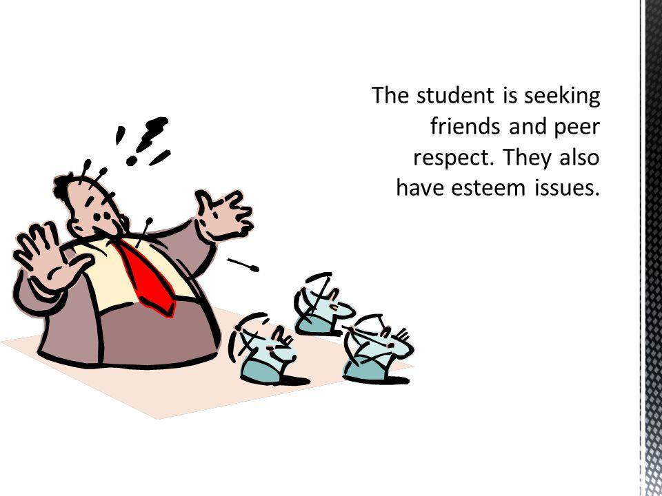  Student 3: The class clown