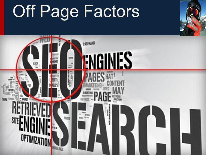 Off Page Factors