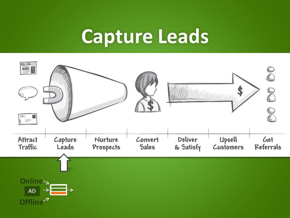 Capture Leads Online Offline AD