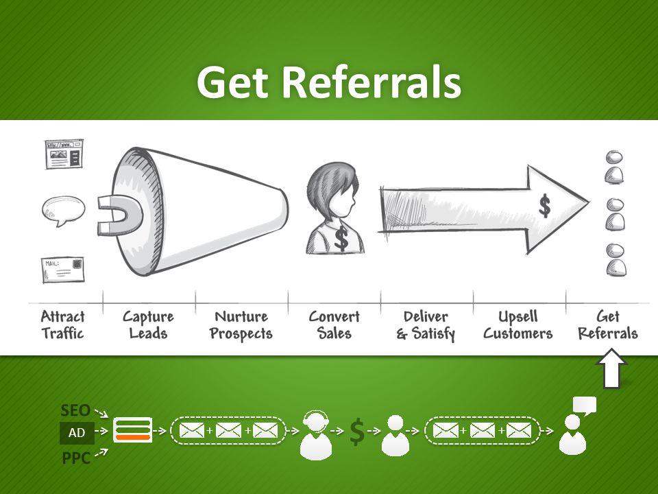 Get Referrals SEO PPC ++++ $ AD