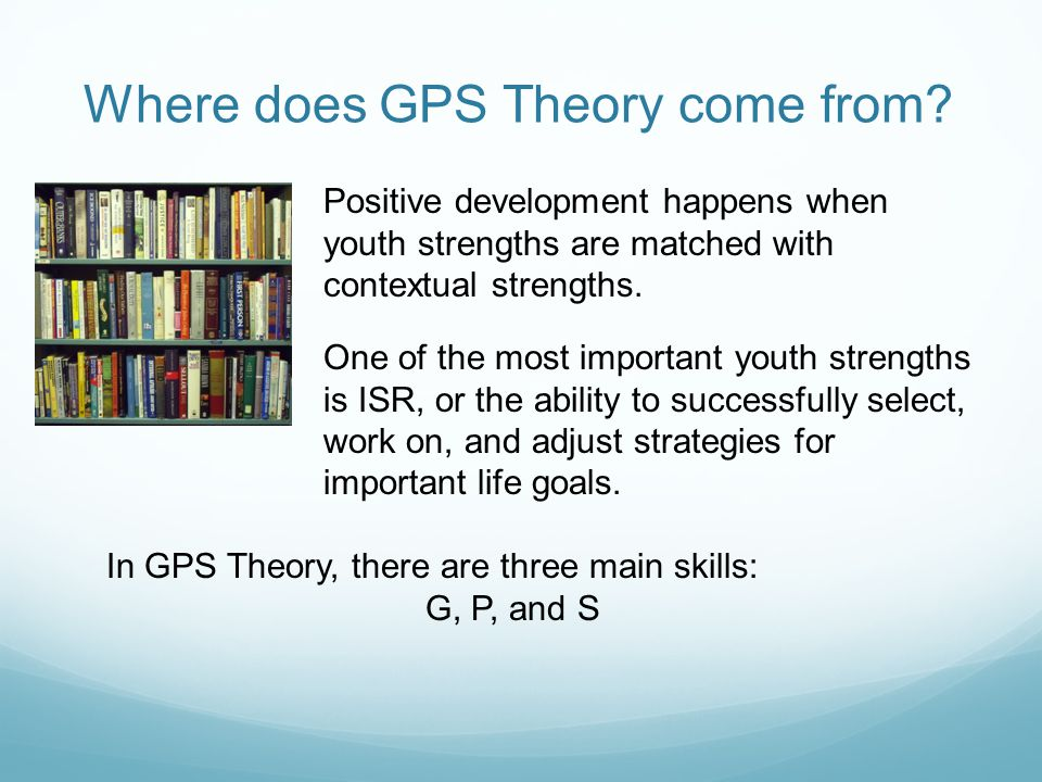 Where does GPS Theory come from.