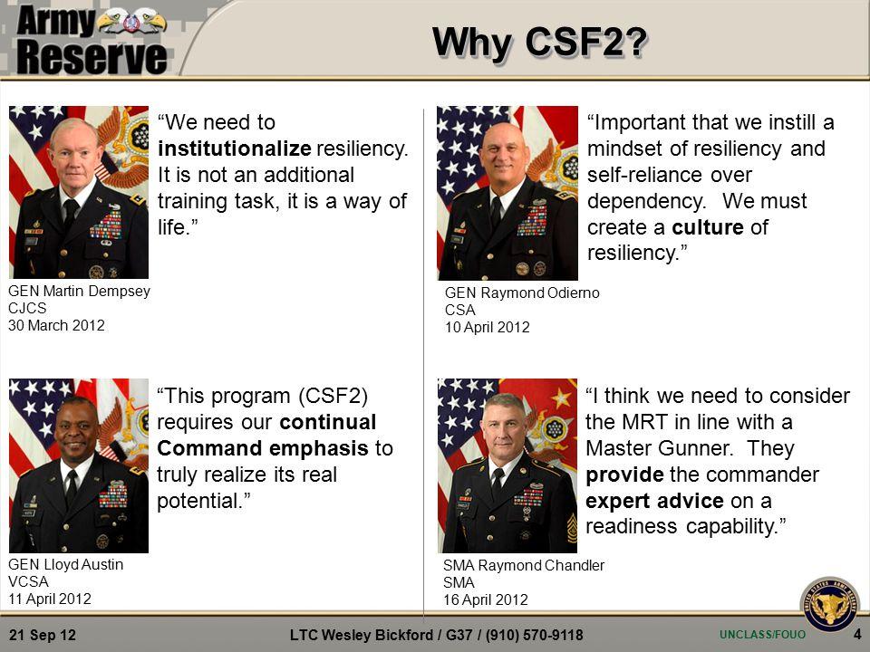 Why CSF2.