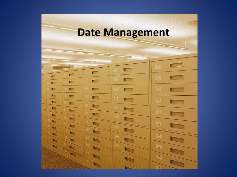 Date Management