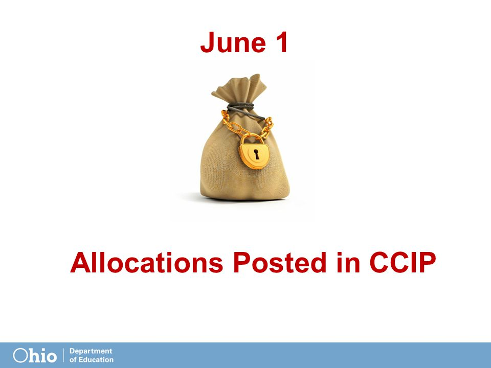 June 1 Allocations Posted in CCIP