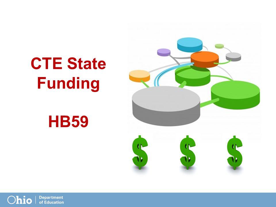 CTE State Funding HB59