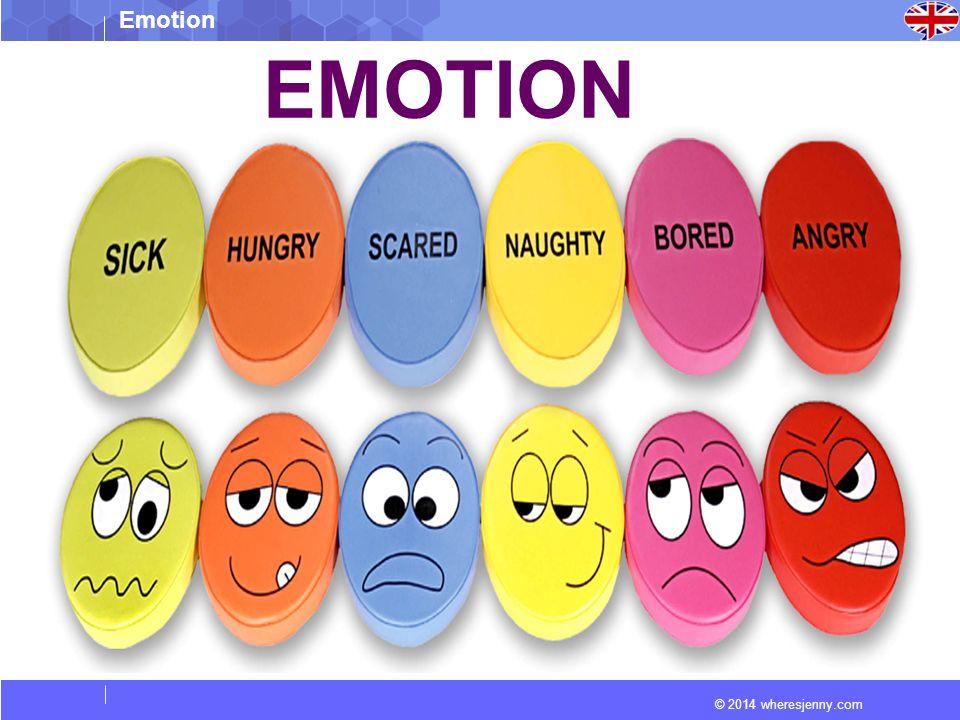 © 2014 wheresjenny.com Emotion EMOTION