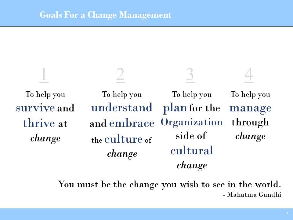 34 Manage Through Change Michael A.Prushan, M.B.A.