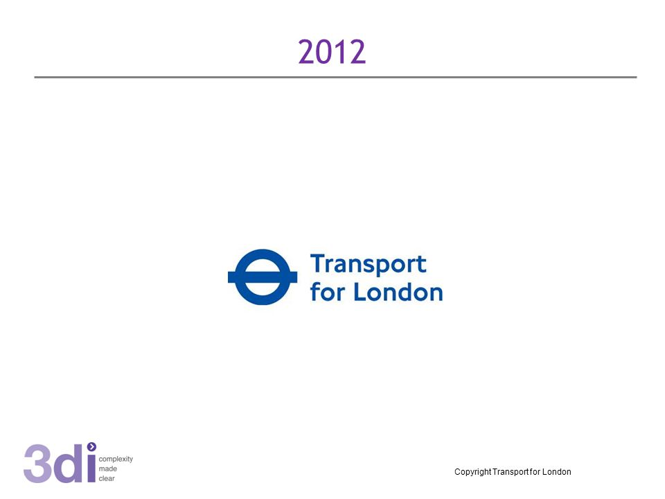 2012 Copyright Transport for London
