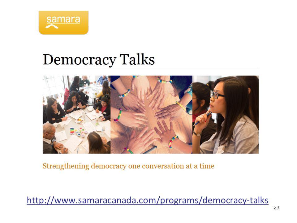 http://www.samaracanada.com/programs/democracy-talks 23