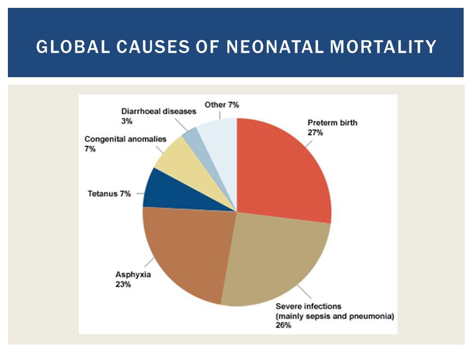 GLOBAL CAUSES OF NEONATAL MORTALITY