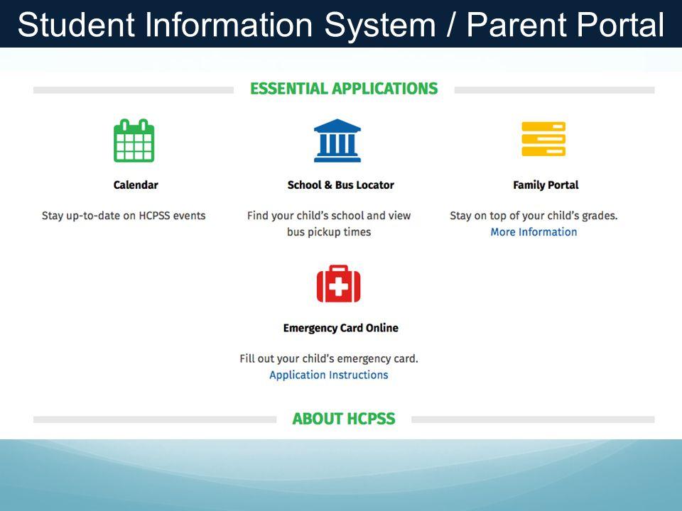 Student Information System / Parent Portal