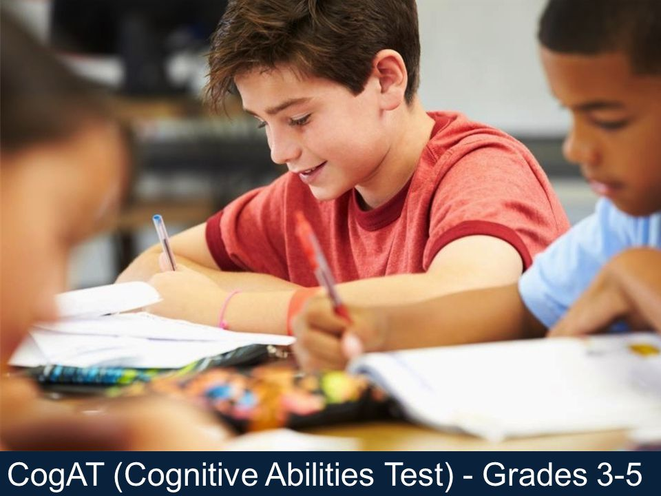 CogAT (Cognitive Abilities Test) - Grades 3-5