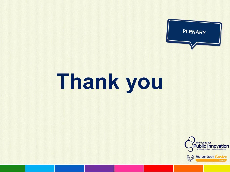 PLENARY Thank you