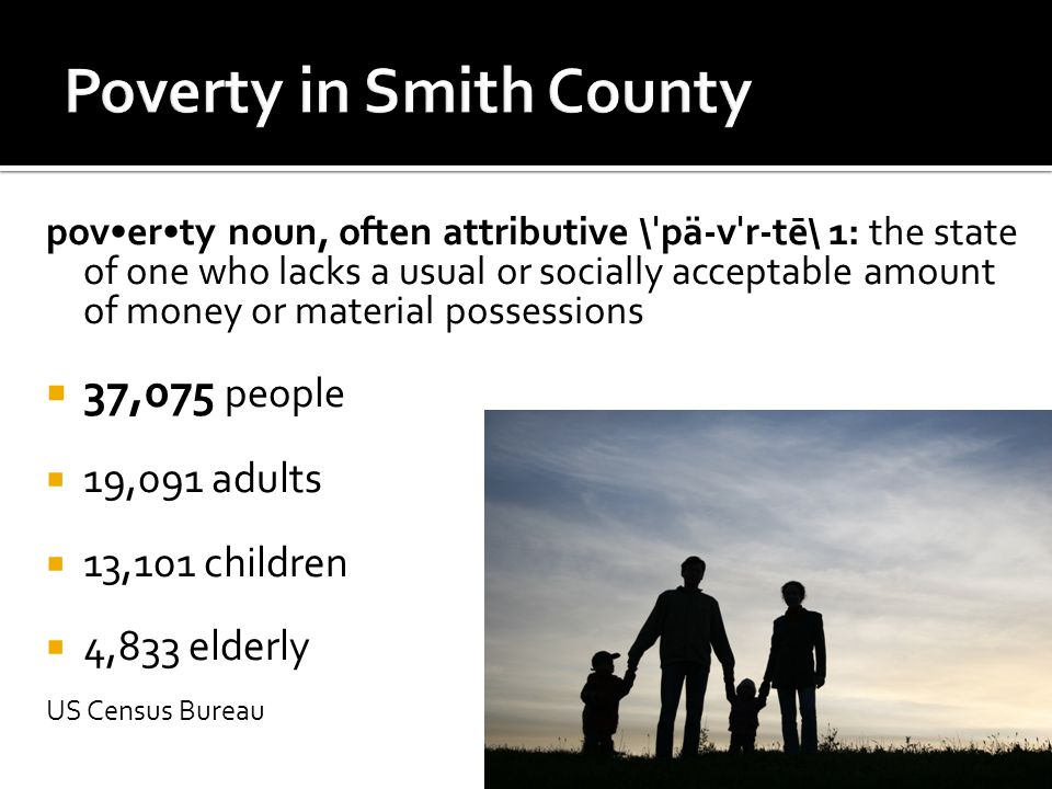 INSPIRE Develop Leaders Committed to Ending Poverty throughout Smith County